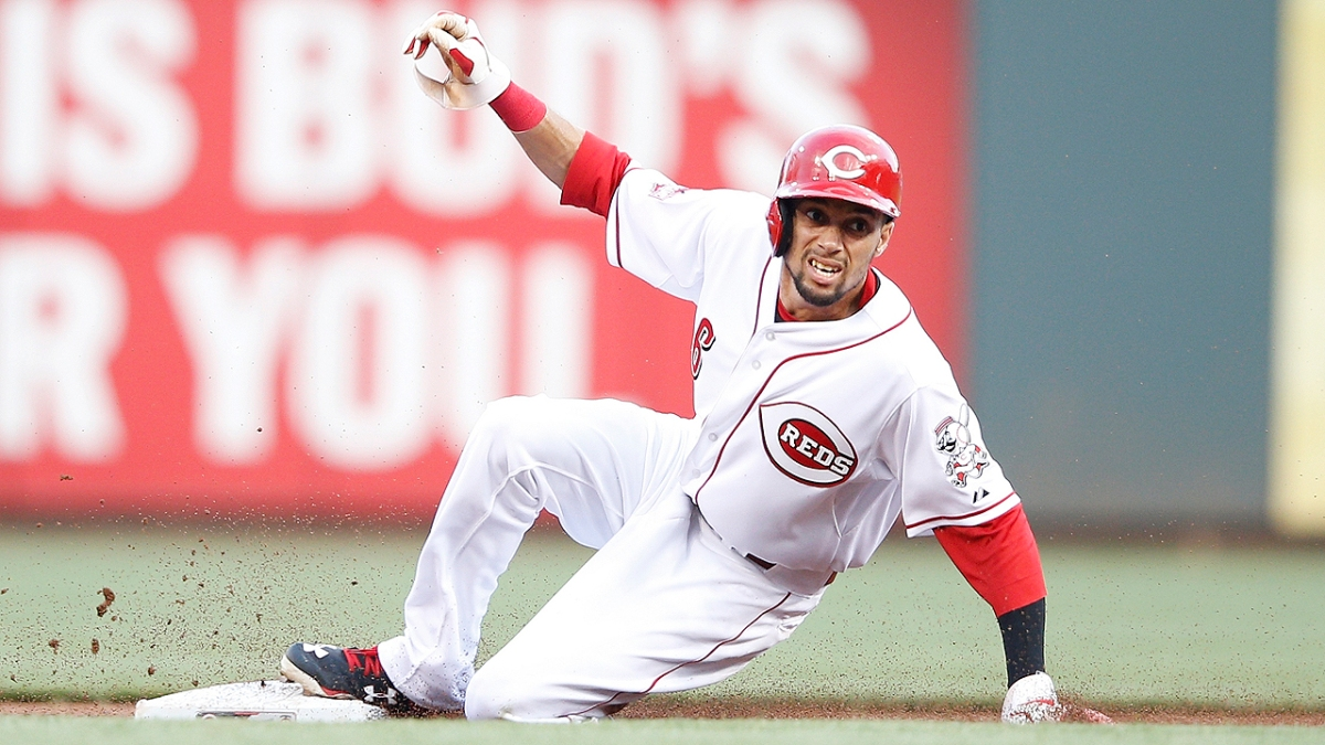 Billy Hamilton Ties Career High for Stolen Bases in a ...