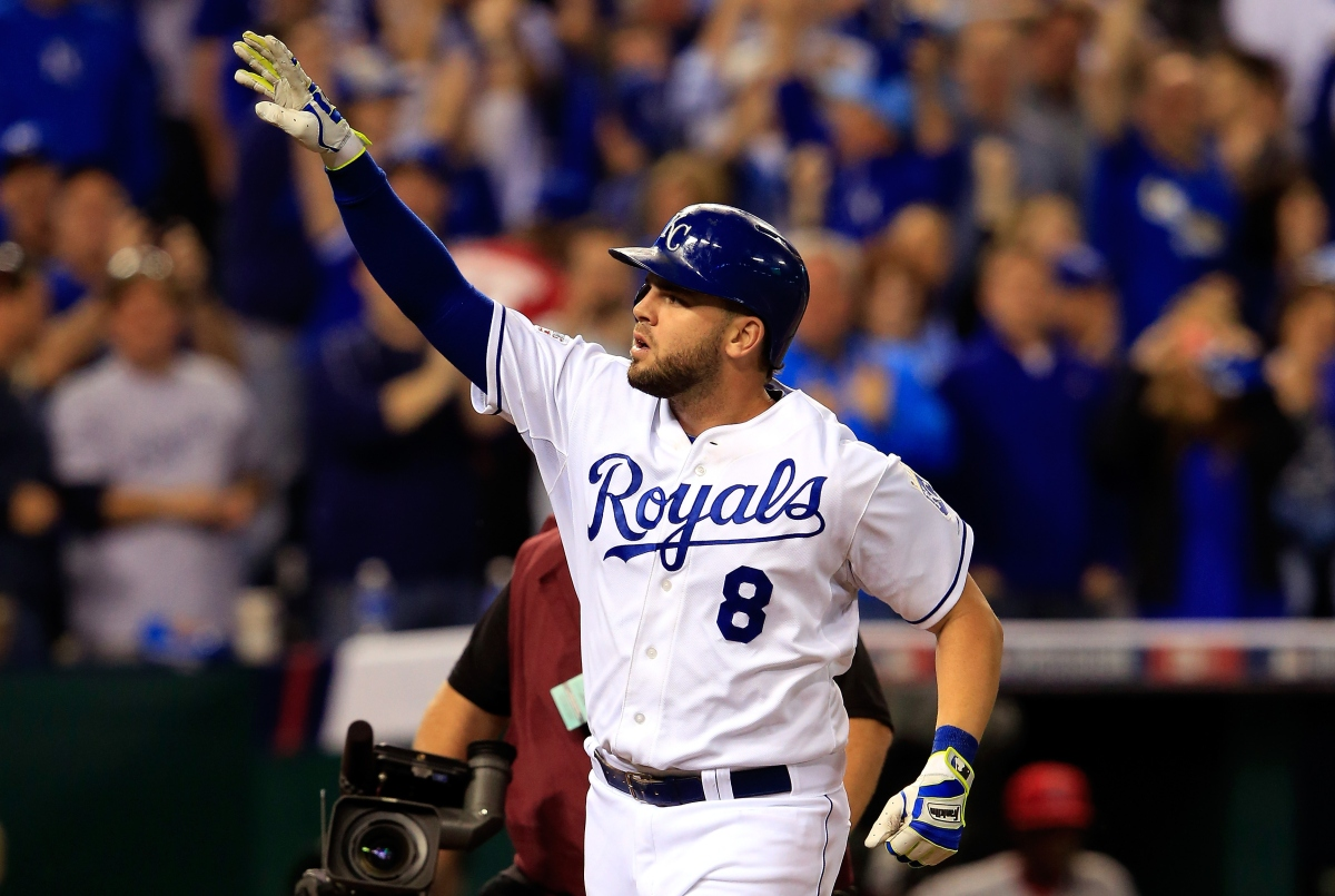 Mike Moustakas Hits Two Home Runs, Drives in 9 Runs vs. Orioles – The Game Day Report