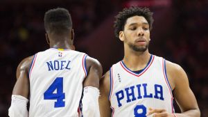 The 76ers will soon face a difficult decision to make with their front court pieces. (USA Today Sports)