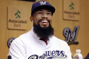 Eric Thames has returned to Major League Baseball. (USA TODAY Sports)