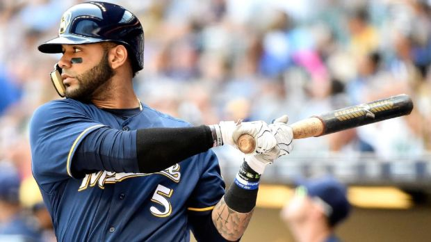 Jonathan Villar was one of the pleasent surprises for the Brewers last season. (Benny Sieu/AP)