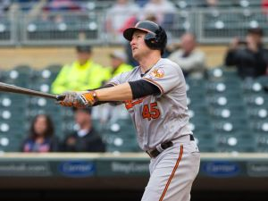 The Oakland Athletics are reportedly interested in free agent slugger Mark Trumbo. (Brad Rempel/USA TODAY Sports)
